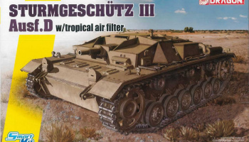 Model Kit tank 6905 - STURMGESCHUTZ III Ausf.D w/Tropical Air Filter (1:35)
