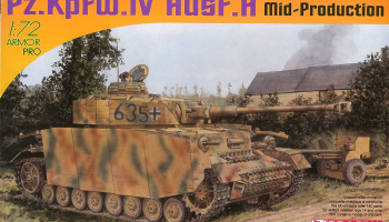 Model Kit tank 7279 - Pz.Kpfw.IV Ausf.H Mid Production (1:72)