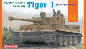 Model Kit tank 7482 - SD,Kfz Tiger I Early Production (1:72)