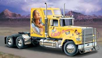 AMERICAN SUPERLINER (1:24) Model Kit Truck 3820 - Italeri