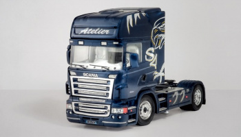 SCANIA R620 ATELIER (1:24) Model Kit Truck 3850 - Italeri