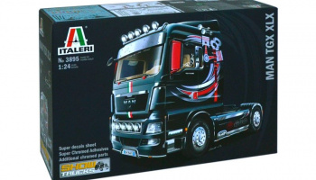 MAN TGX XLX (1:24) Model Kit Truck 3895 - Italeri