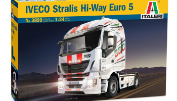 IVECO STRALIS HI-WAY EURO 5 (1:24) Model Kit Truck 3899 - Italeri