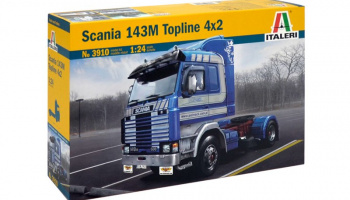 SCANIA 143M TOPLINE 4x2 (1:24) Model Kit Truck 3910 - Italeri