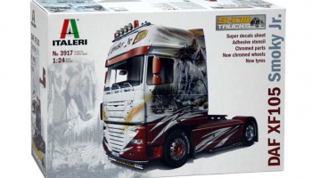 DAF XF-105 (1:24) Model Kit Truck 3917 - Italeri