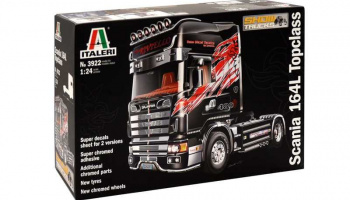 SCANIA 164 L TOPCLASS (1:24) Model Kit Truck 3922 - Italeri