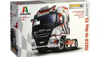 IVECO HI-WAY E5 ABARTH (1:24) Model Kit ruck 3934 - Italeri