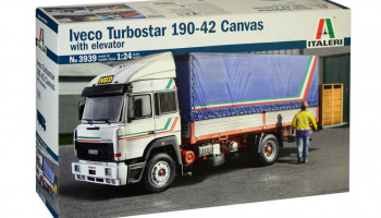 IVECO Turbostar 190-42 Canvas (1:24) Model Kit Truck 3939 - Italeri