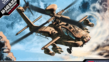 Model Kit vrtulník 12514 - U.S. ARMY AH-64D (1:72)