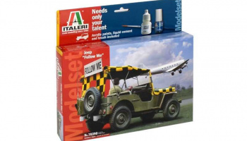 "Model Set military 70390 - JEEP ""FOLLOW ME"" (1:35)"