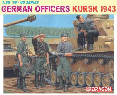 Model Kit figurky 6456 - GERMAN OFFICERS (KURSK 1943) (1:35)