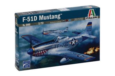 b331f1c14 Model Kit letadlo 0086 - F-51D MUSTANG (1:72) | Car-model-kit.com