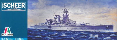 Model Kit loď 0508 - ADMIRAL SCHEER (1:720)