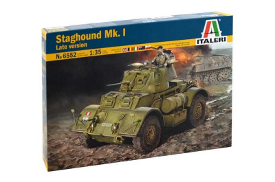 Model Kit military 6552 - STAGHOUND MK.I Late version (1:35)