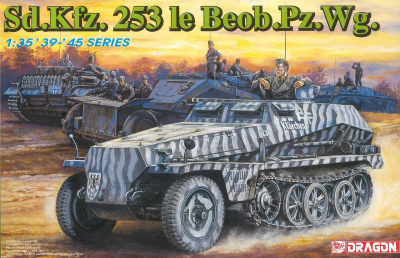Model Kit tank 6140 - Sd Kfz  253 le Beob Pz Wg  (1:35