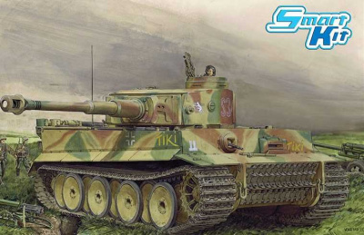 "Model Kit tank 6885 - Tiger I Early Production ""TiKi"" Das Reich Division (Battle of Kharkov) (SMART KIT)(1:35)"