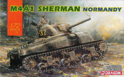 Model Kit tank 7568 - M4A1 SHERMAN (1:72)