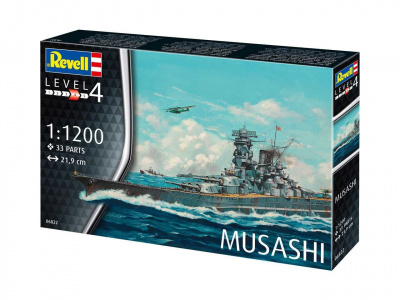 Model Set 66822 - Musashi (1:1200) - Revell
