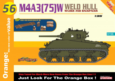 Modelkit tank 9156 - M4A3(75)W Welded Hull (1:35)
