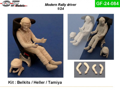Modern Driver Figure Rally 1:24 - GF Models