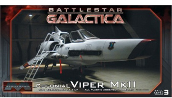 Battlestar Galactica: Colonial Viper Mk II Fighter - Moebius Models