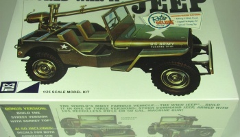 World War II Military Jeep - MPC