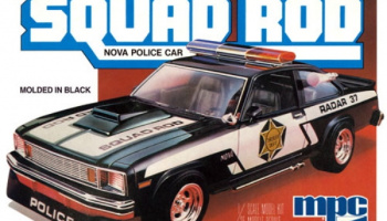 Chevrolet Nova Squad Rod Police car 1:25 - MPC