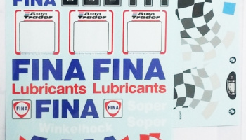 BMW 318i 1994 BTCC (Fina) Early & Late season 1/24 - MSM Creation