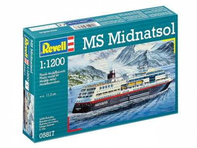 MS Midnatsol (Hurtigruten) Plastic Model Kit 05817 - Revell