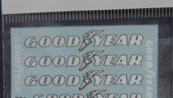 Goodyear decal for Tamiya Tyrrell P34 6 wheeler 1/12 - MSM Creation