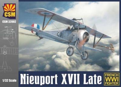 Copper State Models 1//32 NIEUPORT XXI Russian WWI Fighter