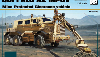 Buffalo A2 MPCV Mine Protected Clearance vehicle 1:35 - Panda Hobby