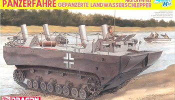 Panzerfähre Gepanzerte Landwasserschlepper Prototype Nr. 1 (1:35) Model Kit military 6625 - Dragon