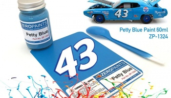 Petty Blue Paint 60ml - Zero Paints