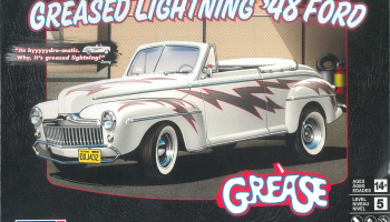 Plastic ModelKit MONOGRAM auto 4443 - Greased Lightning '48 Ford Convertible (1:25)