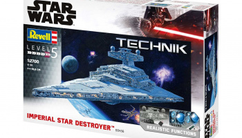 Imperial Star Destroyer (1:2700) Plastic Model Kit TECHNIK Star Wars 00456 - Revell