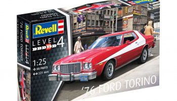 '76 Ford Torino (1:25) Plastic Model Kit 07038 - Revell
