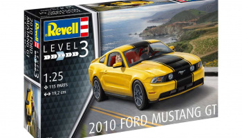 2010 Ford Mustang GT (1:25) Plastic Model Kit 07046 - Revell