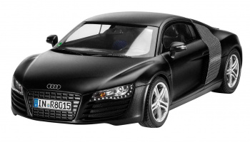 Audi R8 black (1:24) Plastic Model Kit 07057 - Revell