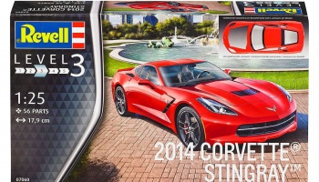 Corvette Stingray C7 2014 - Revell