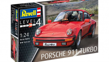 Porsche 911 Turbo (1:24) Plastic Model Kit 07179 - Revell