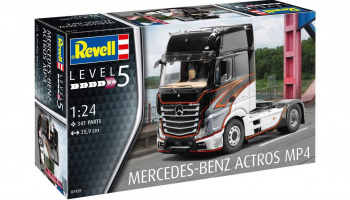 Mercedes-Benz Actros MP4 (1:24) Revell Plastic ModelKit Truck 07439