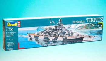 Battleship Tirpitz (1:700) Plastic Model Kit 05099 - Revell