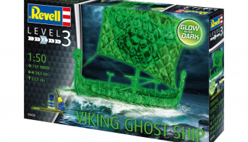 Viking Ghost Ship (1:50) Plastic ModelKit loď 05428 - Revell
