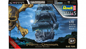 Plastic ModelKit loď Limited Edition 05699 - Black Pearl (1:72)