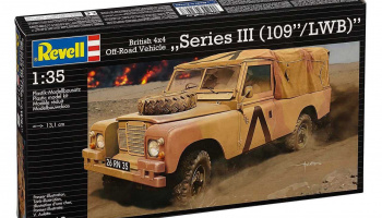 "British 4x4 Off-Road Vehicle""109 (Series III)"" (1:35) Plastic Model Kit 03246 - Revell – kopie"