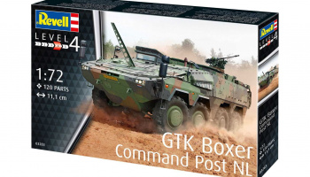 GTK Boxer Command Post NL (1:72) Plastic Model Kit military 03283 - Revell