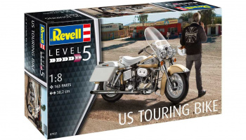 US Touring Bike (1:8) Plastic Model Kit 07937 - Revell