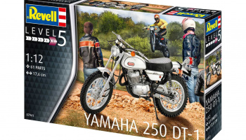 Yamaha 250 DT-1 (1:8) Plastic Model Kit 07941 - Revell