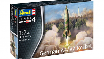 Plastic ModelKit raketa 03309 - German A4/V2 Rocket (1:72)